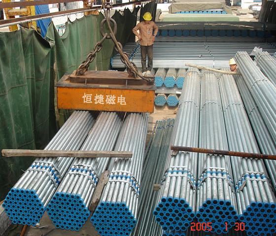 mw29系列吊运捆扎钢管用起重电磁铁